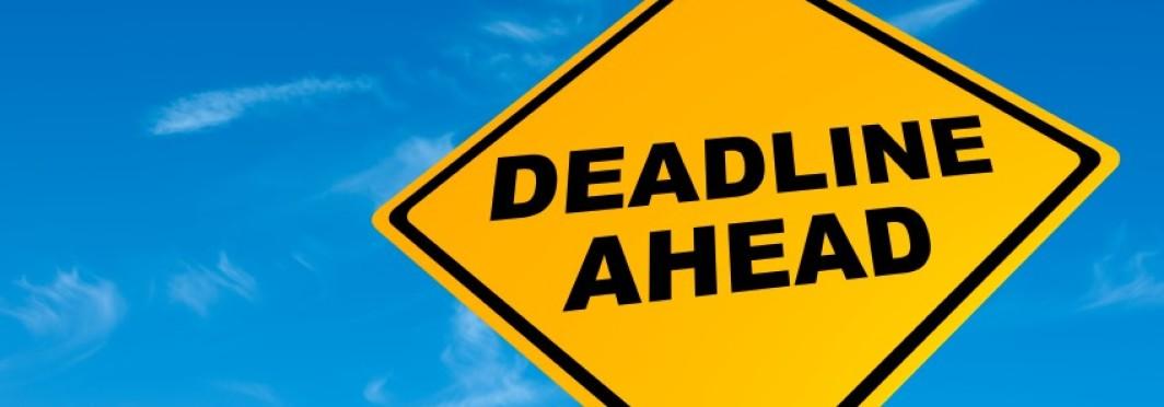 Setting a Deadline